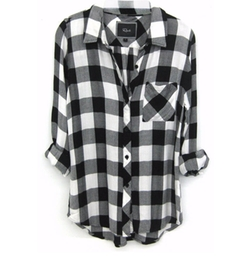 Hunter Plaid Shirt by Rails in Keeping Up With The Kardashians