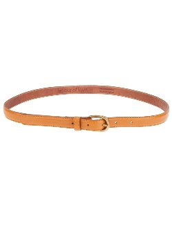 Tan Leather Skinny Belt by Labour Of Love in Crazy, Stupid, Love.