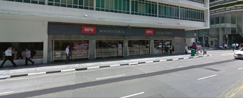 MPH Bookstores Singapore in Hitman: Agent 47