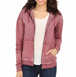 Zipper Front Hoodie by Mavi Jeans in Casual