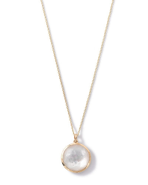 Lollipop Medium Round Pendant Necklace by Ippolita in Ricki and the Flash