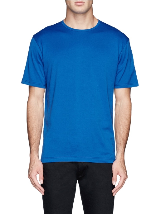 Basic Cotton T-shirt by Sunspel in Man of Tai Chi