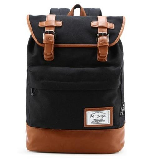 Classic Canvas Vintage Fashion Unisex Backpack by HotStyle in We're the Millers