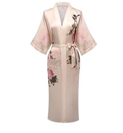 Sleepwear Long Robe by Fadshow in Allied