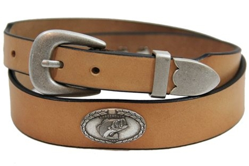 Genuine Leather Belt by Orion Leather in Masterminds