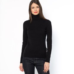Womens Roll-Neck Sweater by La Redoute in (500) Days of Summer