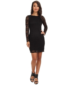 Jewel Neck Chemise Dress by Marc New York by Andrew Marc in Chelsea