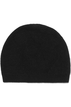 Fiona Ribbed-Knit Cashmere Beanie by Madeleine Thompson in Keeping Up With The Kardashians