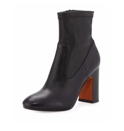 Calista Leather Ankle Boots by Vince in Guilt
