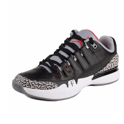 Zoom Vapor Roger Federer x Air Jordan 3 Shoes by Nike in Ballers