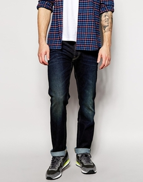 101 S Regular Fit Tapered Leg Jean by Lee in Straight Outta Compton