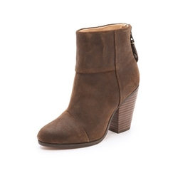 Classic Newbury Leather Bootie by Rag & Bone in Fuller House