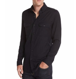 Washed Cotton-Cashmere Sport Shirt by Tom Ford in Empire