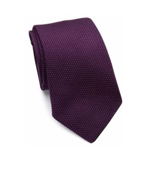 Textured Silk Tie by Polo Ralph Lauren in Suits - Season 5 Episode 8