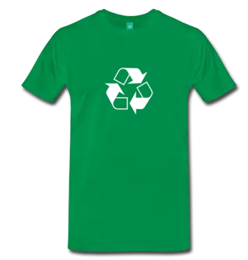 Recycle Symbol T-Shirt by Spreadshirt in The Big Bang Theory - Season 9 Episode 9