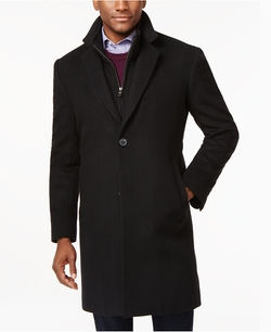 Roger Zipper-Bib Overcoat by Michael Michael Kors in Jessica Jones