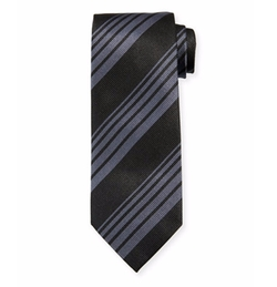 Woven Printed Stripe Tie by Tom Ford in Assassin's Creed