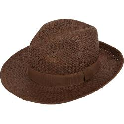 Straw Fedora by Barneys New York in Dolphin Tale 2