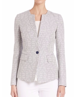 Lynn Textured Blazer by Lafayette 148 New York in The Good Wife