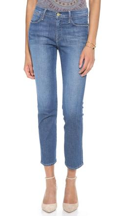 Straight Leg Jeans by Frame Le High in The Purge: Anarchy