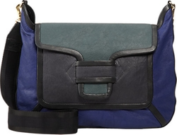 Bv01 Crossbody Messenger Bag by Pierre Hardy in Trainwreck