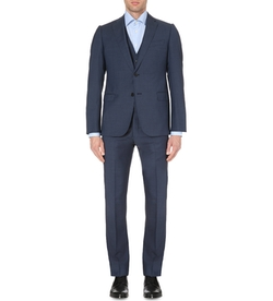 Pindot Three-Piece Wool Suit by Armani Collezioni in Jessica Jones