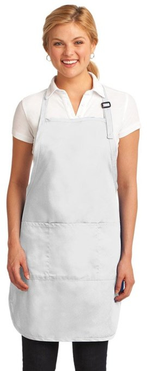 Easy Care Full-Length Apron by Port Authority in The Visit