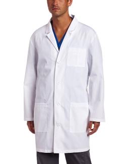 Unisex Lab Coat by Dickies in Self/Less