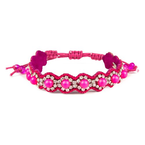 Pearl Candy Cuff String Bracelet by Deepa Gurnani in That Awkward Moment