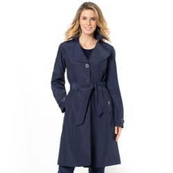 Water-Repellent Trench Coat by La Redoute in New Girl
