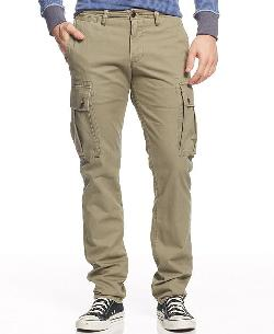 D1 Slim Fit Alpha Khaki Cargo by Dockers in Brick Mansions