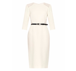 Crepe and Lace-Panel Dress by Jason Wu in Suits