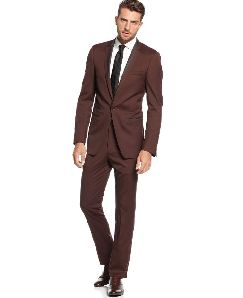 Solid Slim-Fit Suit by Andrew Fezza in Horrible Bosses 2
