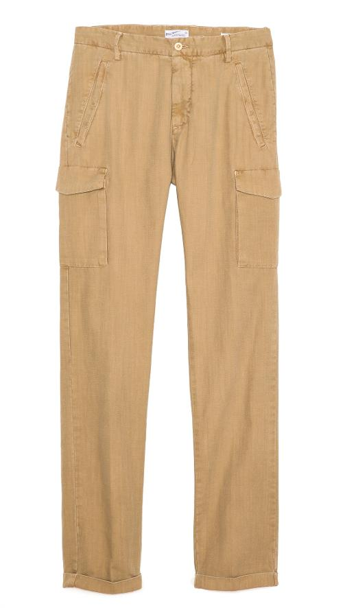 Canvas Cargo Pants by Gant Rugger in Man of Steel