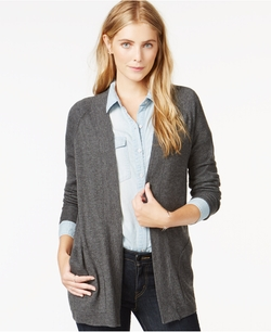 Open Front Pocket Cardigan by Maison Jules in The Vampire Diaries