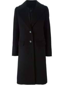 Single Breasted Coat by Agnona in The Flash