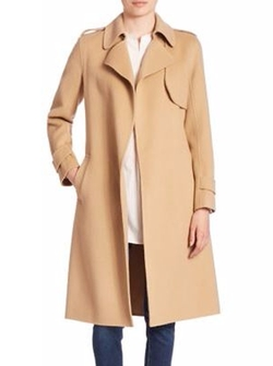 Oaklane Wrap Coat by Theory in Designated Survivor
