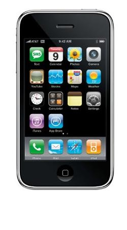 iPhone 3GS by Apple in Couple's Retreat