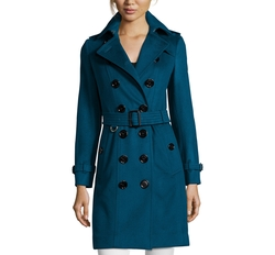 Cashmere Sandringham Trench Coat by Burberry in Molly's Game