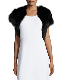 Fiona Fur Bolero by Ramy Brook in Scream Queens