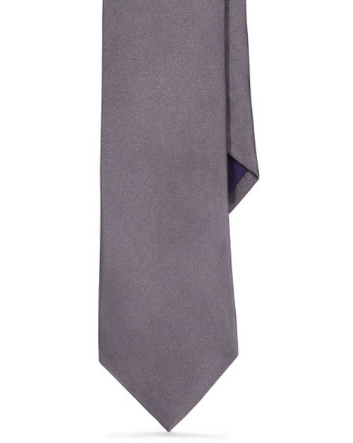 Solid Silk Satin Tie by Ralph Lauren in Sherlock Holmes: A Game of Shadows