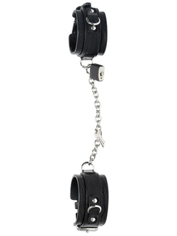Leather Handcuff Bracelet by Dsquared2 in Fifty Shades of Grey