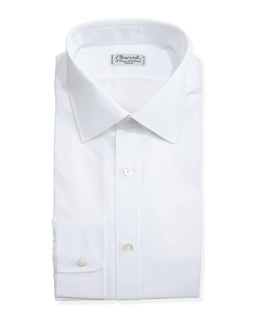 Solid Poplin Dress Shirt by Charvet in The Other Woman