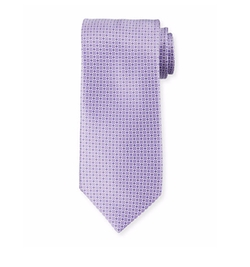 Neat Printed Silk Tie by Stefano Ricci in Ballers