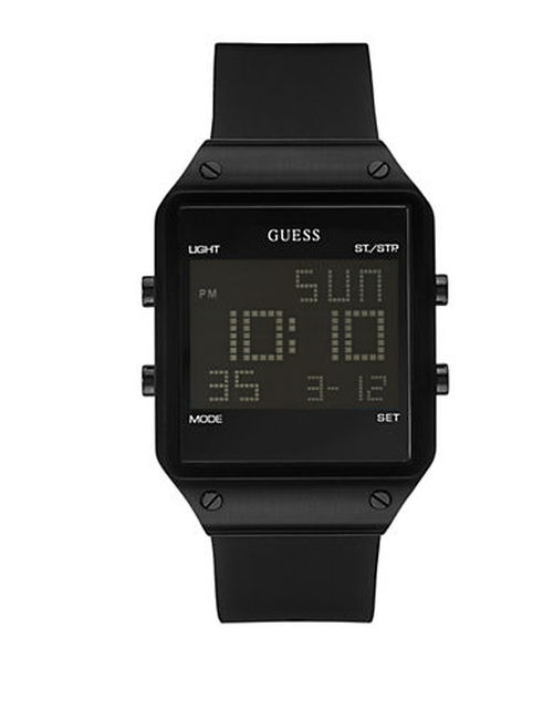Sleek Digital Watch by Guess in The Mindy Project - Season 4 Episode 7
