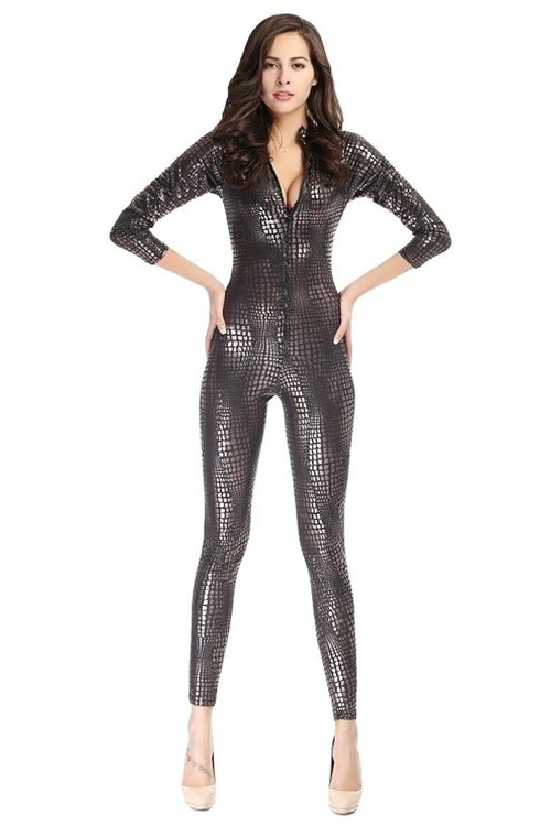 Snake Skin Jumpsuit by Pink Queen in A Bigger Splash