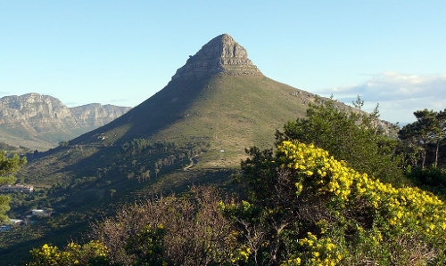 Lion's Head Mountain Cape Town, South Africa in Safe House