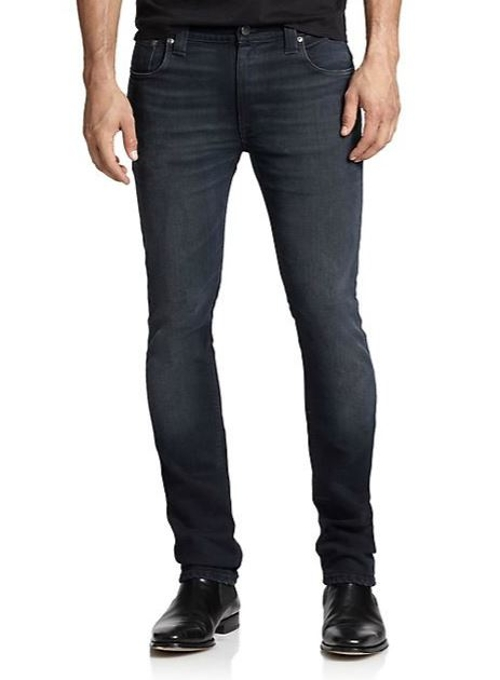 Thin Finn Slim Straight-Leg Jeans by Nudie Jeans in Fast Five