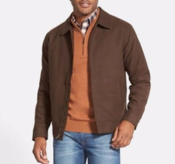 Roosevelt Water Resistant Full Zip Jacket by Cutter & Buck in Daddy's Home 2