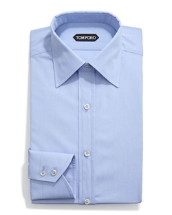 Classic Solid Dress Shirt by Tom Ford	 in Ballers